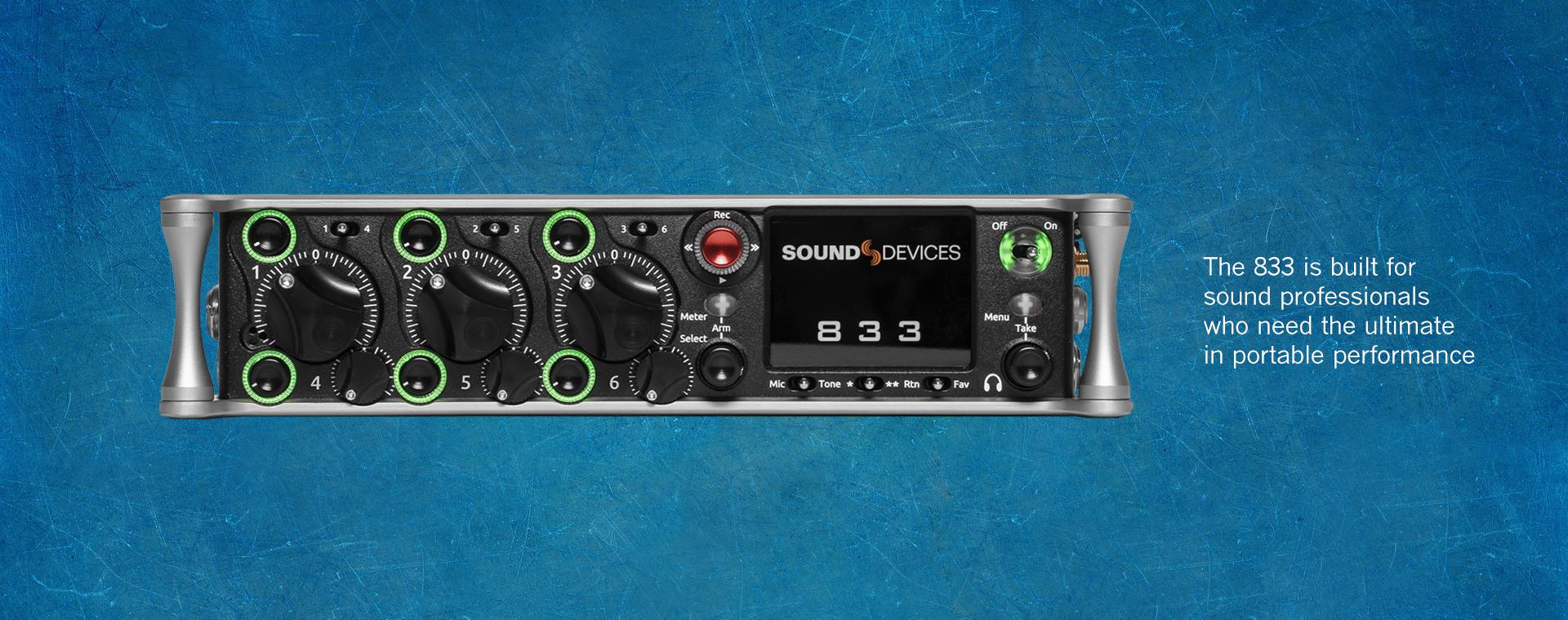833 Mixer Recorder