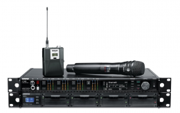 4 Channel Shure Axient Digital Wireless Microphone System