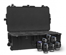 Sigma 7-Lens Prime Kit with case