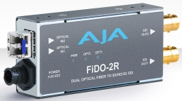 AJA FiDO-2R Dual-channel Optical Fiber to SD/HD/3G SDI