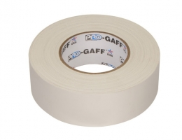 """Visual Departures Professional Gaffer Tape, 2"""" x 55 Yards, White"""