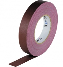 "Visual Departures Professional Gaffer Tape, 1"" x 55 Yards, Burgundy"