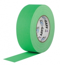 """Visual Departures Professional Gaffer Tape, 2"""" x 55 Yards, Fluorescent Green"""