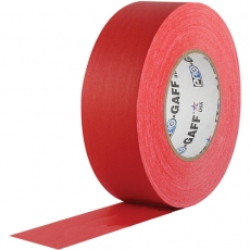 """Visual Departures Professional Gaffer Tape, 2"""" x 55 Yards, Red"""