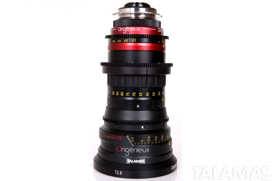 Angenieux Optimo 45-120mm T2.8 Zoom side view