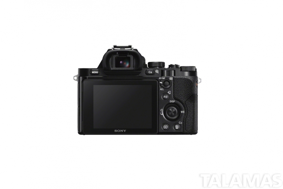 Sony a7S II camera rear
