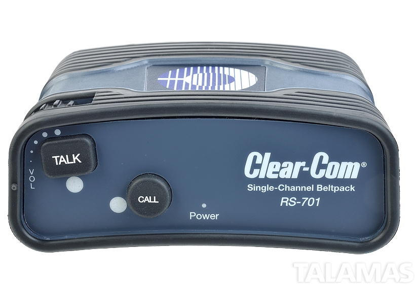 Clear-Com RS 701 Single-Channel Standard Beltpack